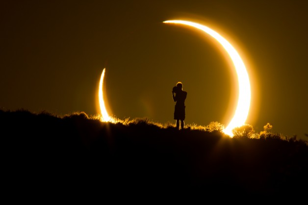 Roof Top Solar Eclipse